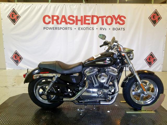 Harley-Davidson XL1200 C salvage cars for sale: 2013 Harley-Davidson XL1200 C