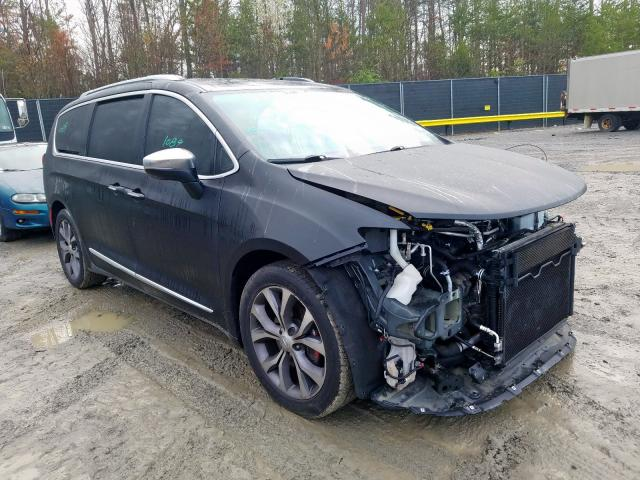 Salvage cars for sale from Copart Waldorf, MD: 2017 Chrysler Pacifica L