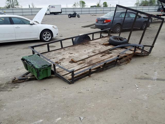 2002 UTILITY TRAILER - Left Front View