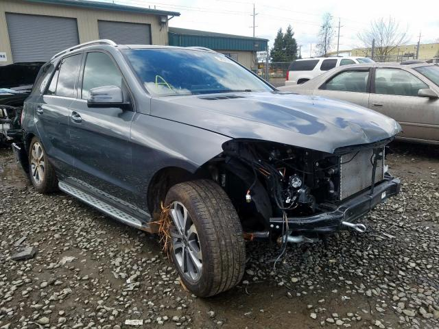 Salvage cars for sale from Copart Eugene, OR: 2019 Mercedes-Benz GLE 400 4M