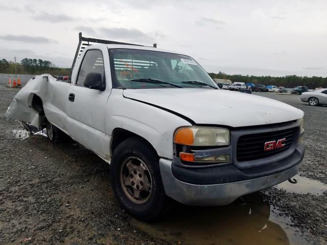 GMC salvage cars for sale: 1999 GMC New Sierra