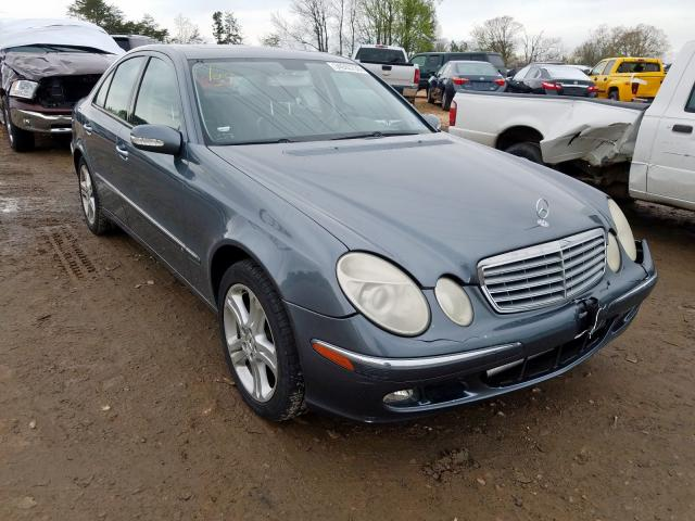 Salvage 2005 Mercedes-Benz E 500 for sale