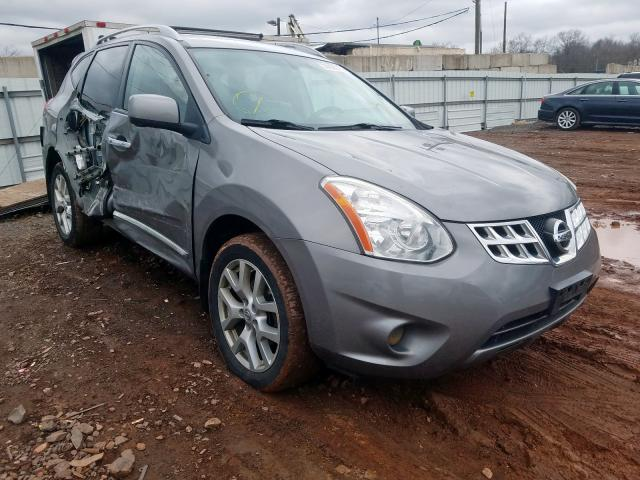 Nissan Rogue S salvage cars for sale: 2013 Nissan Rogue S
