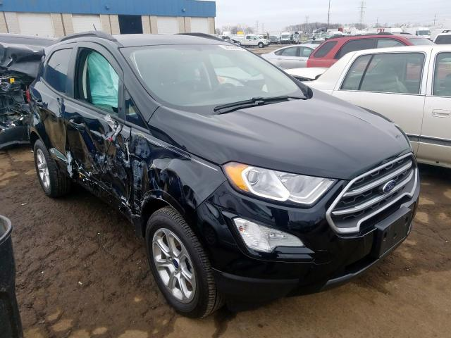 Salvage cars for sale from Copart Woodhaven, MI: 2019 Ford Ecosport S