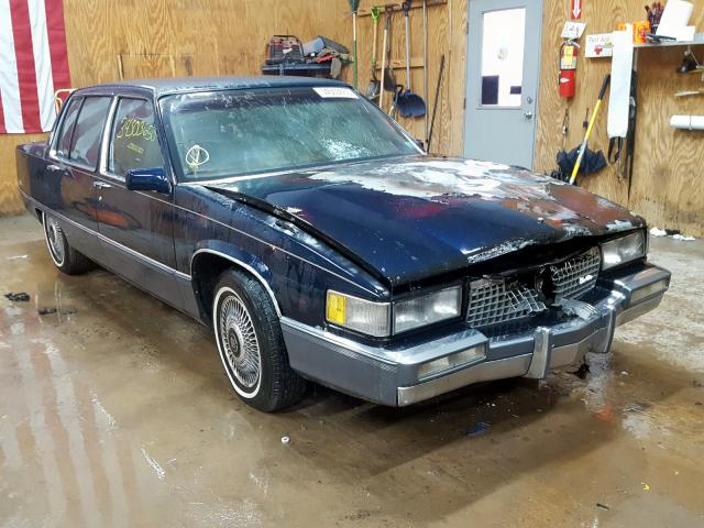 Salvage cars for sale from Copart Kincheloe, MI: 1989 Cadillac Fleetwood