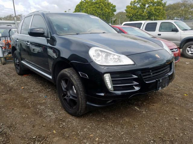 Porsche salvage cars for sale: 2009 Porsche Cayenne S