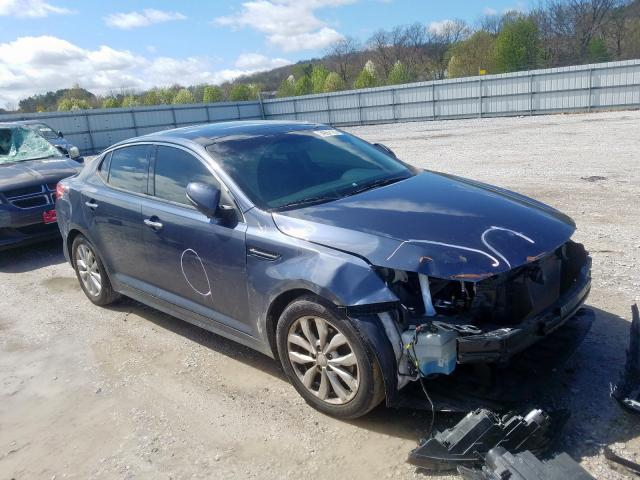 KIA salvage cars for sale: 2015 KIA Optima EX