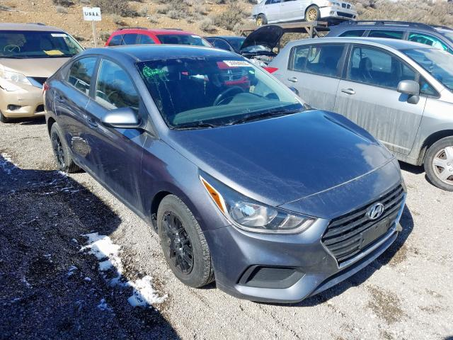 Salvage cars for sale from Copart Reno, NV: 2018 Hyundai Accent SE