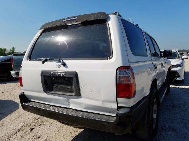 1998 TOYOTA 4RUNNER - Right Rear View