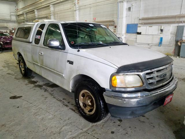 Salvage cars for sale from Copart Fredericksburg, VA: 2001 Ford F150