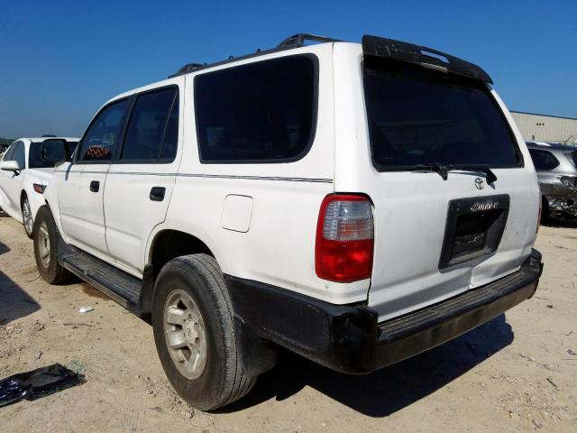 1998 TOYOTA 4RUNNER - Right Front View
