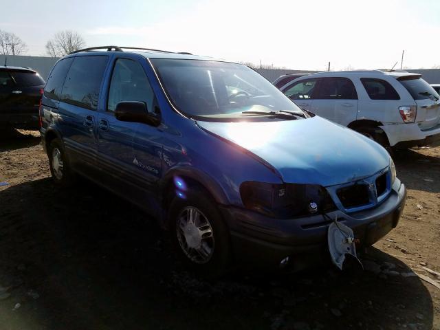 Salvage 2000 Pontiac MONTANA EC for sale