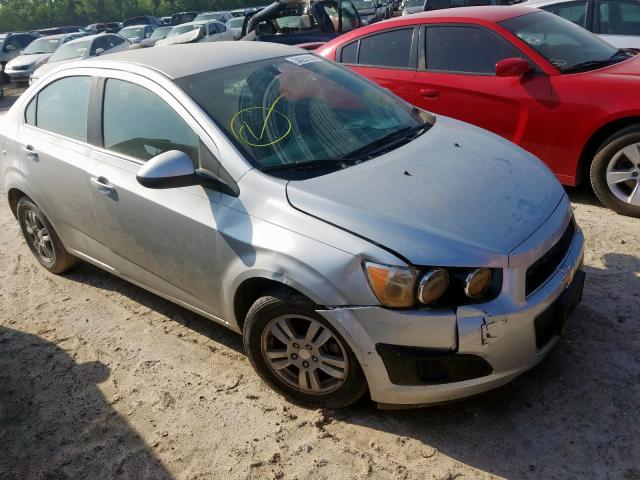 Salvage cars for sale from Copart Houston, TX: 2015 Chevrolet Sonic LT
