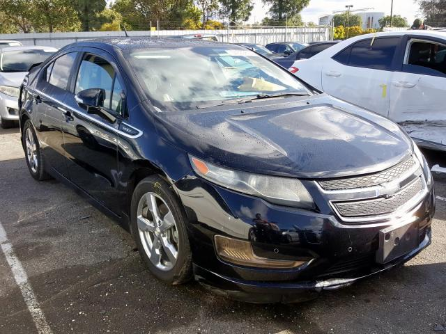 Chevrolet Volt salvage cars for sale: 2011 Chevrolet Volt