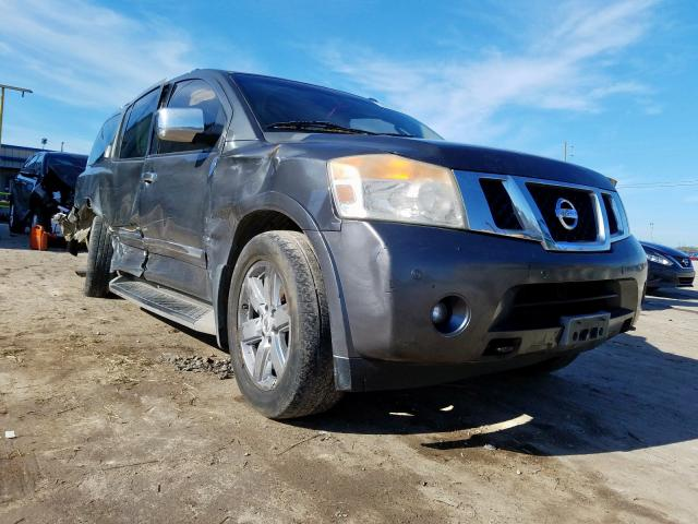 Nissan salvage cars for sale: 2010 Nissan Armada SE