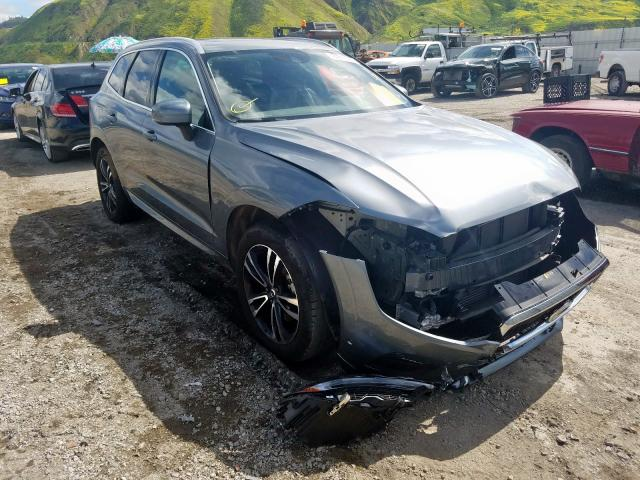 Volvo XC60 T5 MO salvage cars for sale: 2019 Volvo XC60 T5 MO
