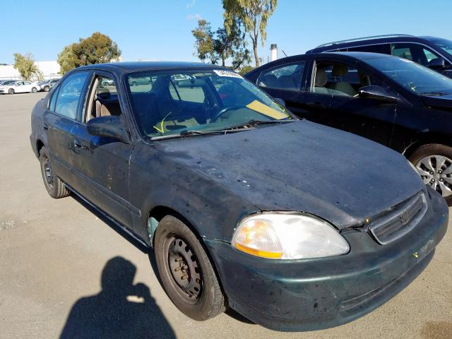 Salvage cars for sale from Copart Martinez, CA: 1997 Honda Civic LX