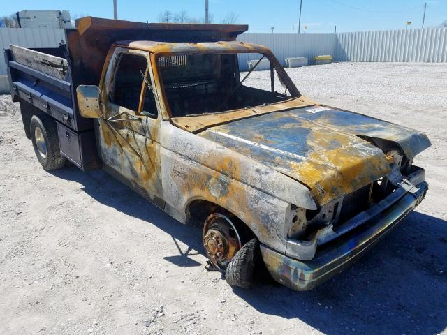 Ford F350 salvage cars for sale: 1987 Ford F350