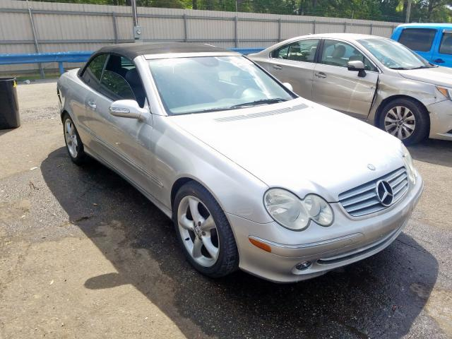 Mercedes-Benz salvage cars for sale: 2005 Mercedes-Benz CLK 320