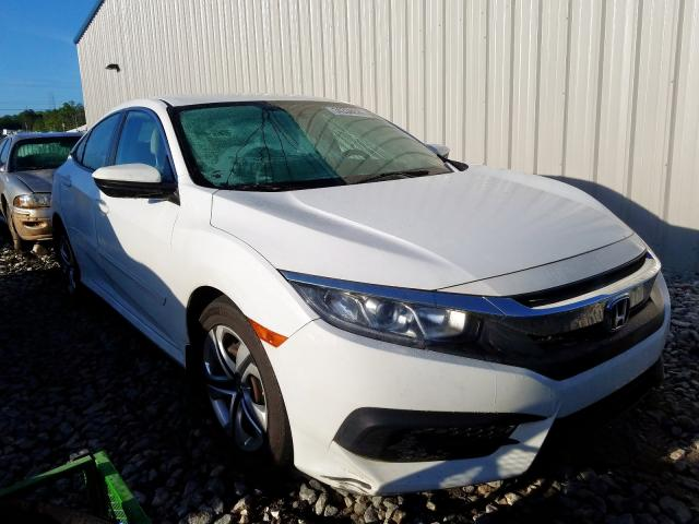 Honda Civic LX salvage cars for sale: 2016 Honda Civic LX