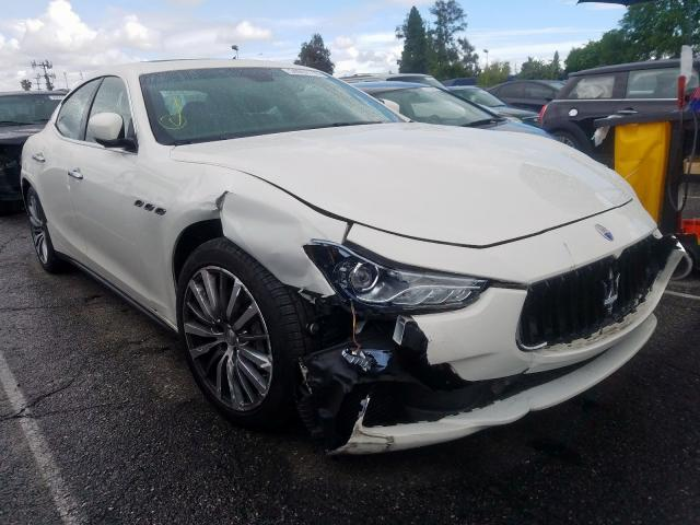Maserati Ghibli salvage cars for sale: 2016 Maserati Ghibli