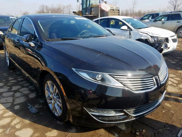 Salvage cars for sale from Copart Woodhaven, MI: 2014 Lincoln MKZ Hybrid