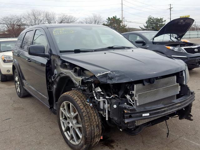Dodge Journey R salvage cars for sale: 2015 Dodge Journey R
