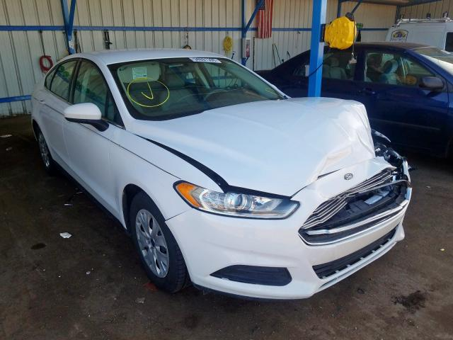 Ford Fusion S salvage cars for sale: 2014 Ford Fusion S
