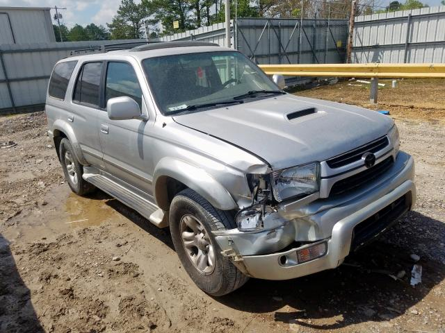 Salvage cars for sale from Copart Florence, MS: 2001 Toyota 4runner SR