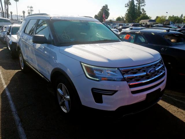 Used 2018 FORD EXPLORER - Small image. Lot 34709070