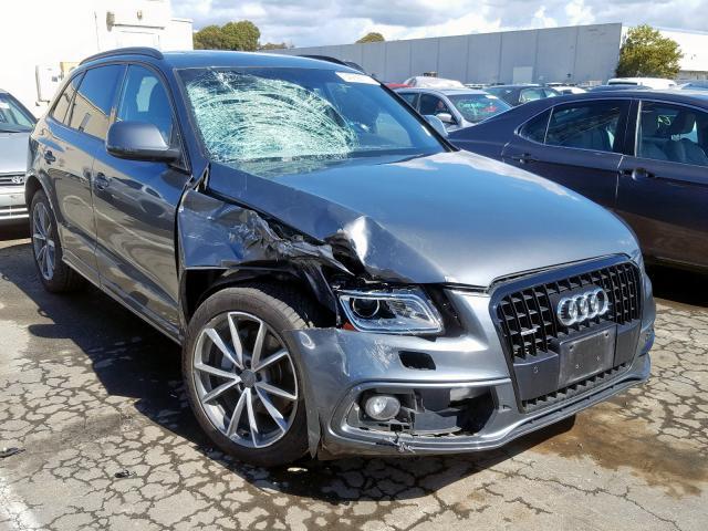Salvage 2015 Audi Q5 PRESTIGE for sale