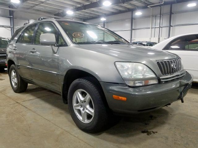 Lexus salvage cars for sale: 2002 Lexus RX 300