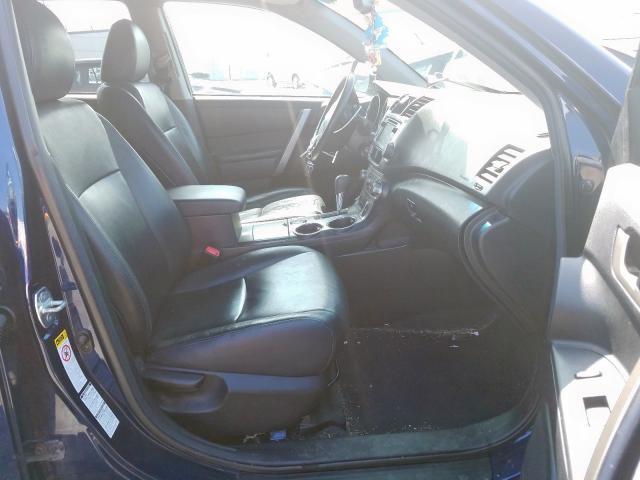 2013 Toyota HIGHLANDER   Vin: 5TDBK3EH7DS193768