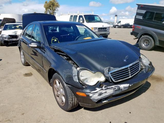 Mercedes-Benz C 320 salvage cars for sale: 2001 Mercedes-Benz C 320