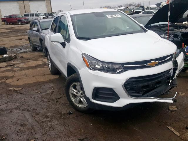 Chevrolet Trax LS salvage cars for sale: 2019 Chevrolet Trax LS