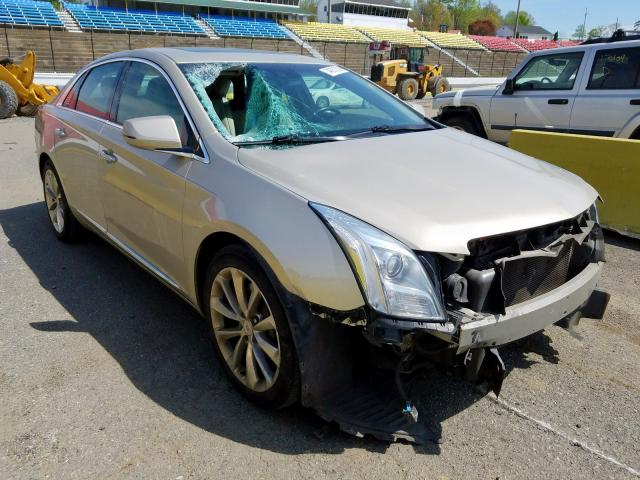 Salvage cars for sale from Copart Concord, NC: 2014 Cadillac XTS Luxury