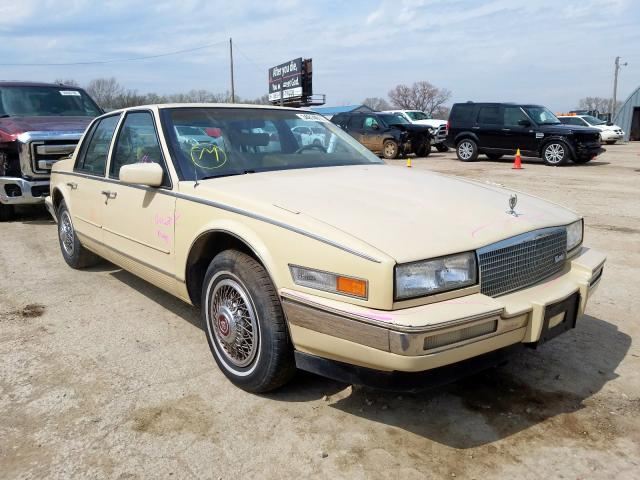Cadillac Seville salvage cars for sale: 1986 Cadillac Seville