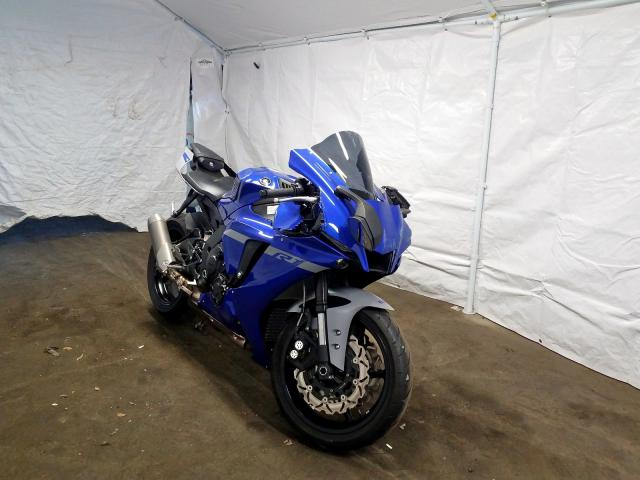 Salvage cars for sale from Copart Windsor, NJ: 2020 Yamaha YZFR1
