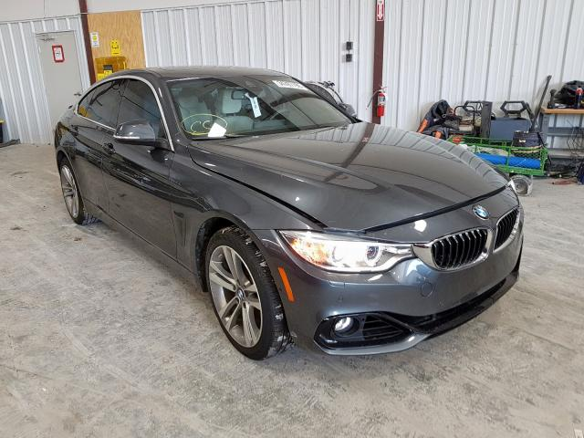 BMW 428 XI GRA salvage cars for sale: 2016 BMW 428 XI GRA