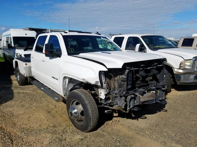 Salvage cars for sale from Copart Sacramento, CA: 2016 GMC 3500 HD