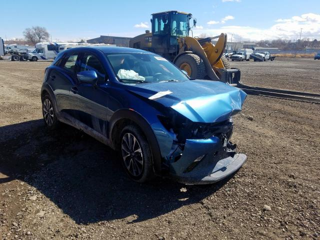 Mazda salvage cars for sale: 2019 Mazda CX-3 Touring