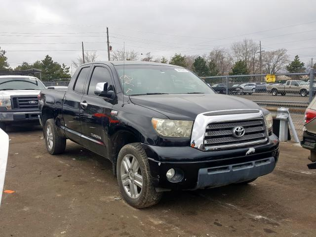 Toyota Tundra DOU salvage cars for sale: 2007 Toyota Tundra DOU