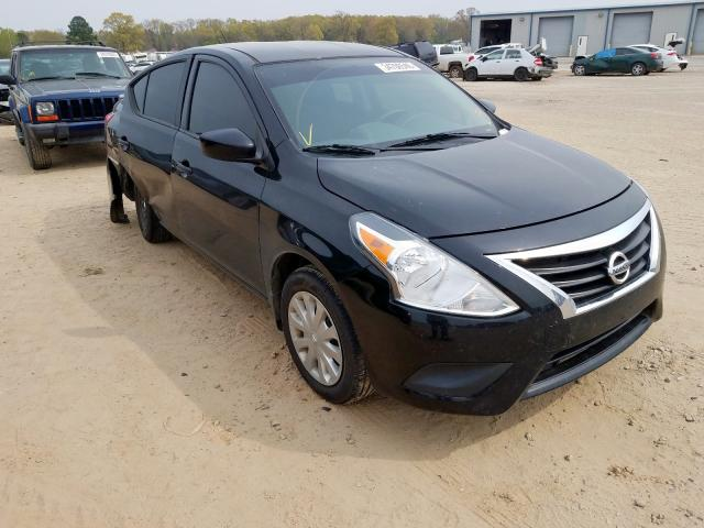 Nissan salvage cars for sale: 2017 Nissan Versa S