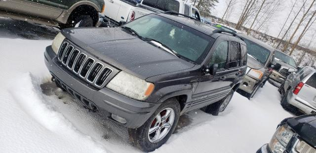 Jeep Grand Cherokee salvage cars for sale: 2002 Jeep Grand Cherokee