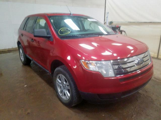 Ford Edge SE salvage cars for sale: 2010 Ford Edge SE