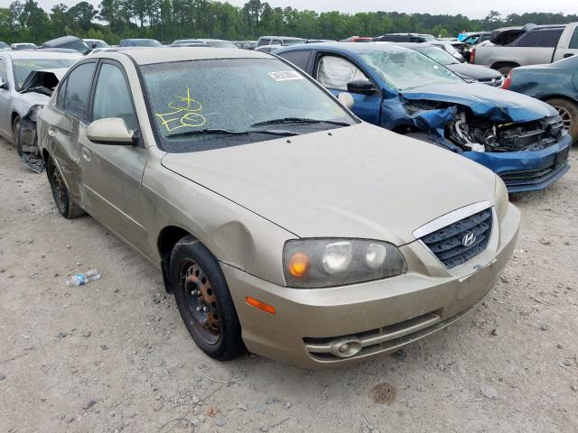 Salvage cars for sale from Copart Houston, TX: 2005 Hyundai Elantra GL
