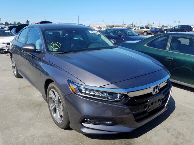 Honda Accord EXL salvage cars for sale: 2020 Honda Accord EXL