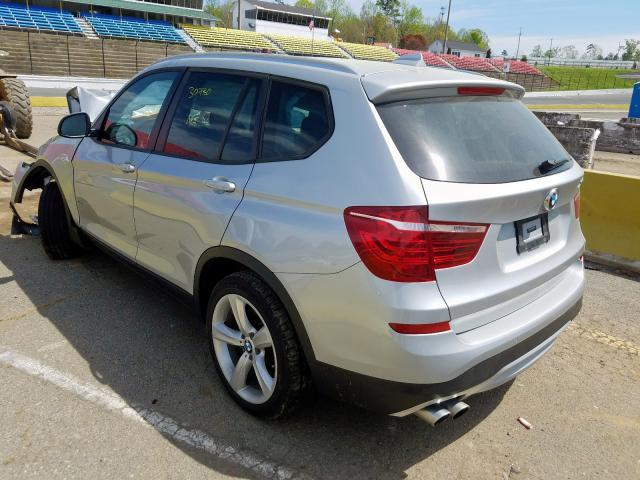 купить 2017 BMW X3 XDRIVE28I 5UXWX9C5XH0T01712