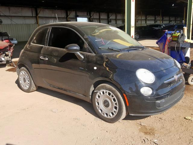 Fiat salvage cars for sale: 2014 Fiat 500 POP