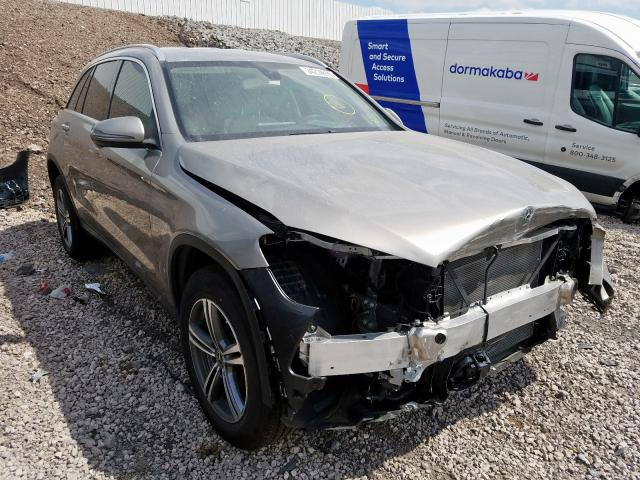 Mercedes-Benz salvage cars for sale: 2020 Mercedes-Benz GLC 300